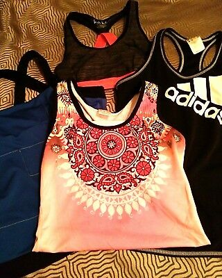 Mixed lot fitness clothing, Adidas, Underarmour +, M/L