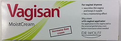VAGISAN Vaginal Moisturising Cream 50g - Vaginal Dryness, Normal PH & Flora. VAG