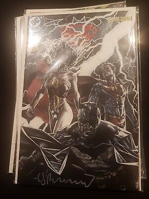 Batman Superman #5 Comic action variant