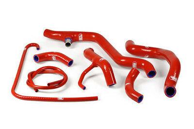 Ducati 848 Race 2008 - 2014 Thermo Bypass Samco Radiator Hose Kit Red