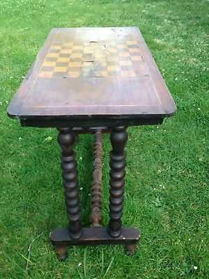 Lovely Antique Games Table