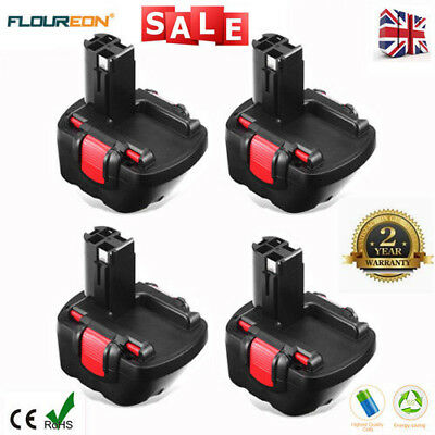 4x12V 3.0Ah Battery For Bosch BAT043 BAT045 3360 3455 GSB GSR PSR PAG PSB 12VE-2