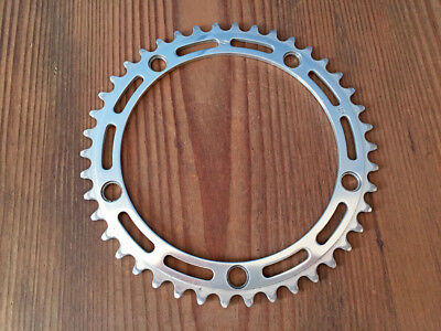 "Corona Chainrings  ""CAMPAGNOLO RECORD"" Vintage Original bdc 144mm 42 Denti"