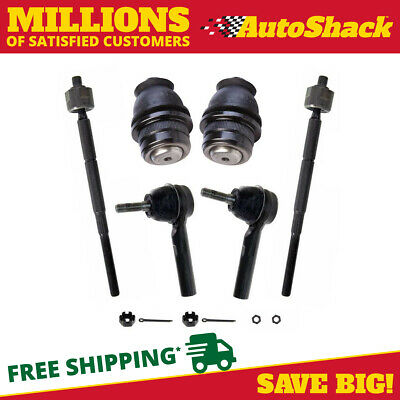 2 Ball Joints and 2 Inner and Outer Tie Rods fits Dodge Caliber Jeep