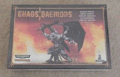 Warhammer fantasy / AOS / 9th age / KOW Chaos daemon prince new in box