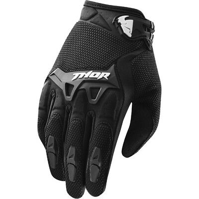 Thor Spectrum Youth Gloves Black - On Sale!!!