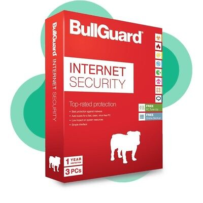 Bullguard Internet Security 2018, Multi User upto 6 Devices, 1 Year Subscription