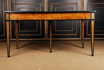 Antique Extendable Panel Board Table in the Biedermeier Style 1810