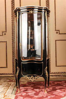Fine French Cabinet in the Style of the Louis XV Piano Black