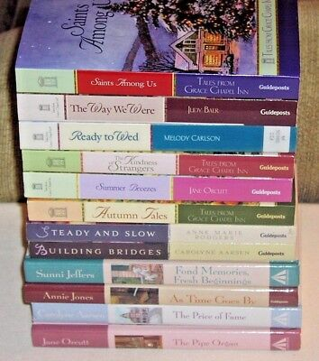 Lot of 12 TALES FROM GRACE CHAPEL INN Guideposts Christian Fiction Series Set