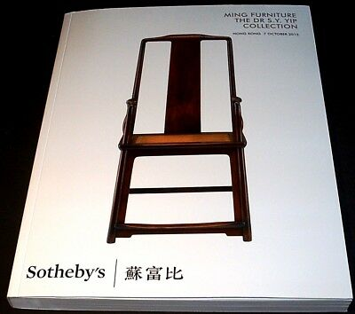 CHINESE ART - MING FURNITURE: Sotheby's gr. Wälzer HK 15 +results