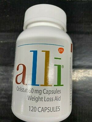 ALLI 120 CT Orlistat Weight Loss Capsules NEW Factory Sealed Bottle EXP DEC 2019