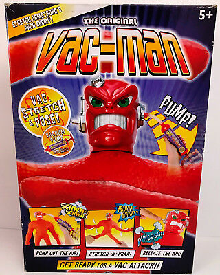 Stretch Vac-Man Figure - Pre Owned - NEW YEAR SALE - REDUCED