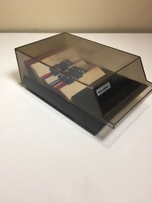 Rolodex VIP 24C Covered File Business Card Flip Top Blank Office Phone Box