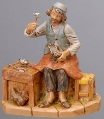 "Fontanini TITUS Shoe Cobbler 5"" Scale Nativity Figure 54039"