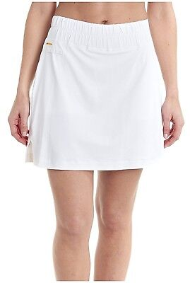 (Small, White) - LOLE Womens Brooke Skort. Free Delivery