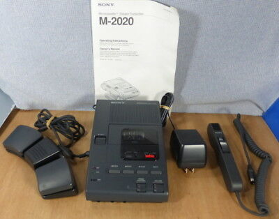 Sony Transcriber/Recorder System, All Access., Mic, Footswitch, excel.