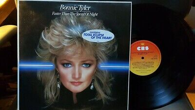 Bonnie Tyler – Faster Than The Speed Of Night 33T LP EX++/NM CBS 25304