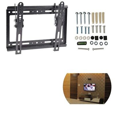 New Tilt Swivel Plasma QLED LED LCD TV Wall Bracket Mount 14 17 26 32 40 42 Inch