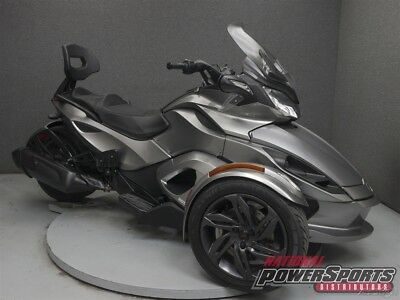 Can-Am Spyder  2013 Can-Am Spyder ST SE5 Used FREE SHIPPING OVER $5000