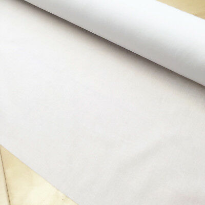 1/2 mt x 112 cm Lightweight Woven Fusible Iron on Cotton Interfacing Interlining