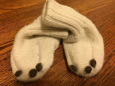 Ouef Baby 100% Alpaca Booties, 6-12 Month