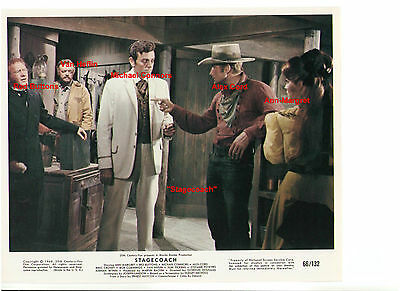 Stagecoach Ann Margret Red Buttons Van Heflin Mike Connors Alex Cord 8X0 Still