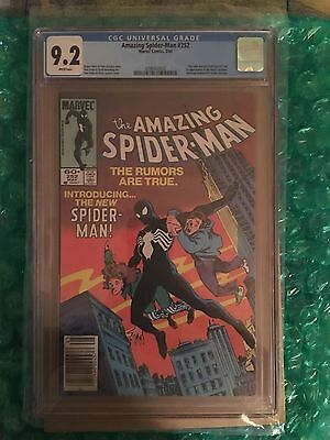 Amazing Spider-Man #252 CGC 9.2 NM HIGH GRADE White Pages (0290442002) KEY ISSUE