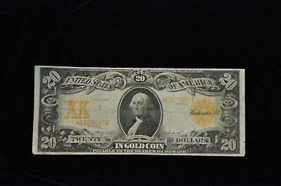 1906 $20 Twenty Dollar Gold Certificate Large Size Note /X48