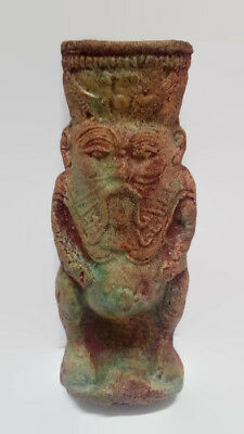 Egyptian antiques Bes, Ancient Egyptian God-Demon of Protection