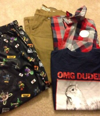 4 Piece Lot Boys Size 8/10 New With Tags