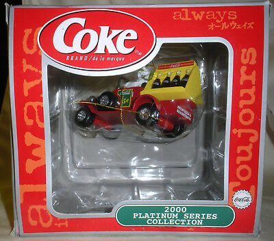 2000 Coca-Cola Platinum Series Collection Delivery Truck - Limited Release ~ NIB