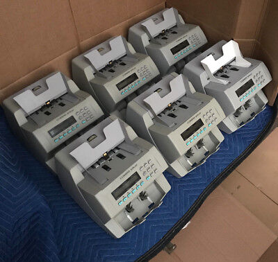 Cummins Jetscan Currency Counters (6) Total - Great shape A+1