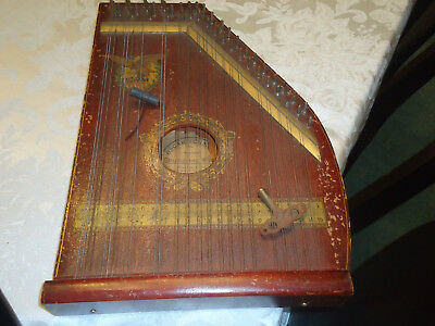 Vintage American Mandolin Harp Style B Patented 1894 AMERICAN BALD EAGLE
