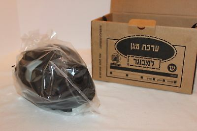 Israeli Gas Mask W/ Genuine Military Sealed NATO Filter Original Box & Straw