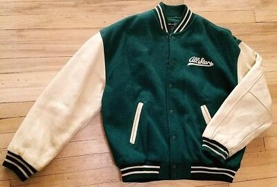 Vintage Warner Bros. All Star Lettermans Jacket with Bugs Bunny Embroidery on...