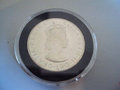 1964 Bermuda Islands One Crown Silver Coin Uncirculated?