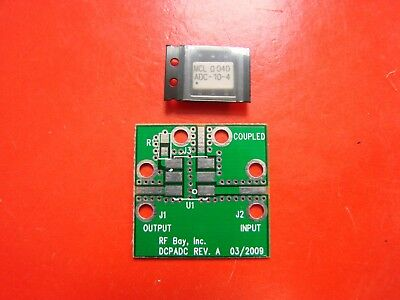 Mini Circuits 5-1000MHz 10dB Directional Coupler ADC-10-4 with designed PCB