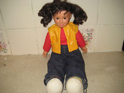 Vintage Punky Brewster Doll By Galoob 1984 20 Inch In Length-Used
