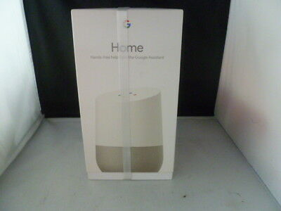 Google Home Voice Activated Smart Speaker & Personal Assistant Brand New Sealed