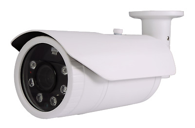 5MP PoE Security IP IR Night Vision Camera w/ 9-22mm Motorized Lens ONVIF
