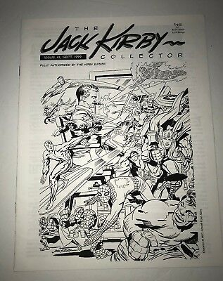 The Jack Kirby Collector Issue #1 Sept. 1994