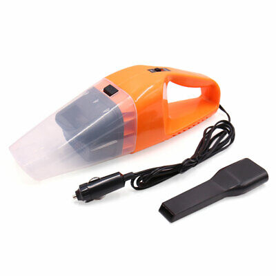 Orange Portable Handheld Wet Dry Dust Suction Vacuum Cleaning Tool for Auto Car
