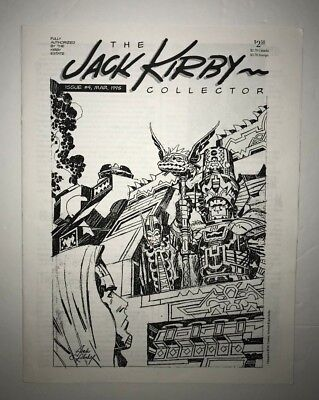 The Jack Kirby Collector Issue #4 March 1995