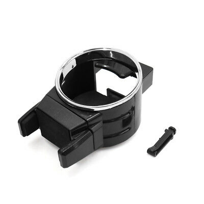 Plastic Water Drink Cup Bottle Holder Stand Bracket for Auto Car Interior Black