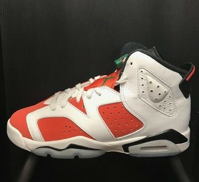 Jordan Retro 6 Gatorade White Orange Black Gs  Sz 4-7 Y   384665-145