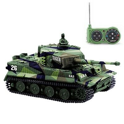 German Tiger I Panzer RC Tank Remote Control Tank with Remote Controller Batt...
