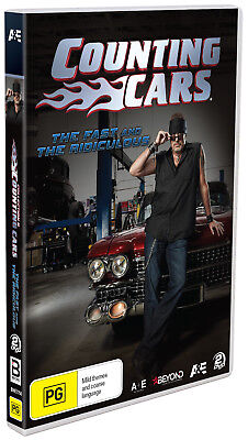 BRAND NEW Counting Cars - Fast And The Ridiculous (DVD, 2-Disc Set) R4