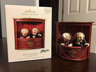 Hallmark Keepsake Statler and Waldorf Ornament The Muppets 2008 **READ**