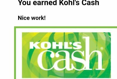 $10 Kohls Cash Valid 12/7 - 12/19 plus 15-20% Off - Electronic Delivery Only